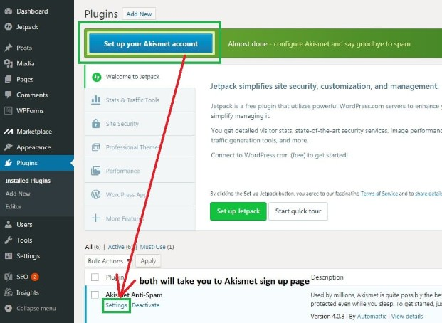 wordpress-step-2-click-on-set-up-your-akisemt-account