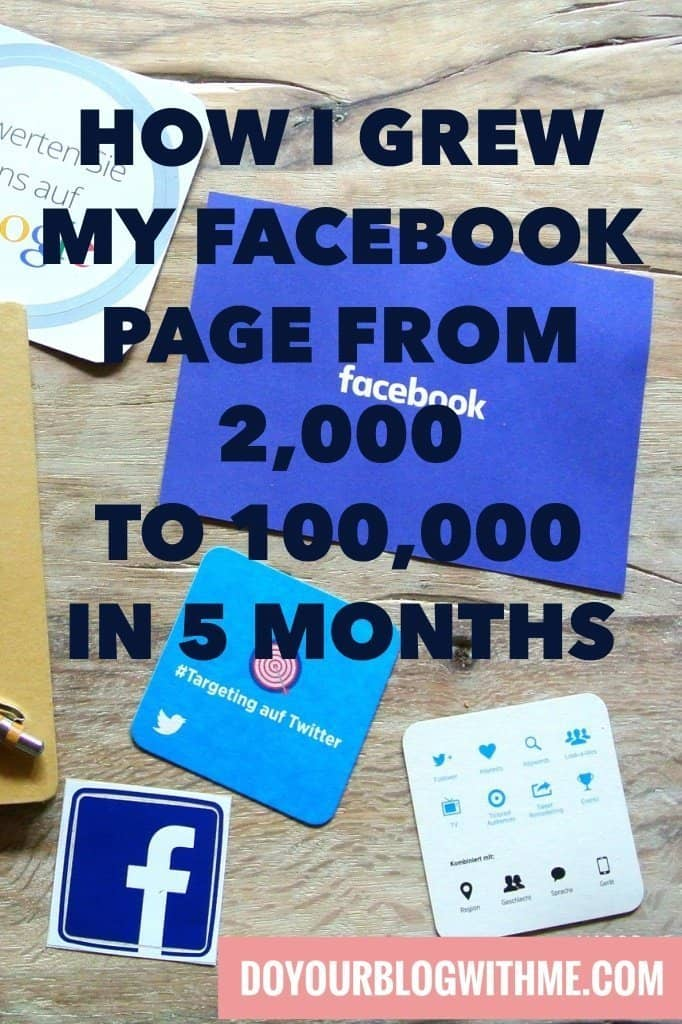 How I grow my Facebook page from 2,000 to 100,000 in 5 months