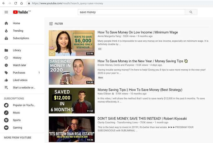 Looking for your silos on Youtube - how to start a successful blog