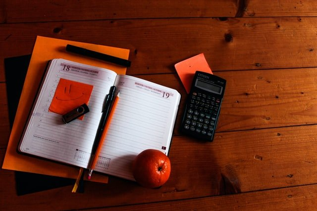 how to budget using paper, pencil, eraser and calculator