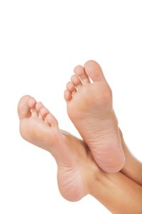 selling soles of feet showing up in picture