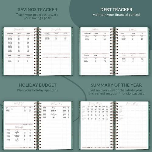 planberry book to manage your income and savings