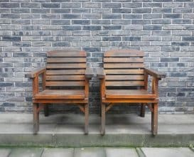 woodworking chairs as project in your garage